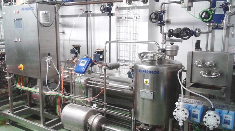 Nueva planta de esterilización, homogenización y concentración de hidrolizados de proteínas