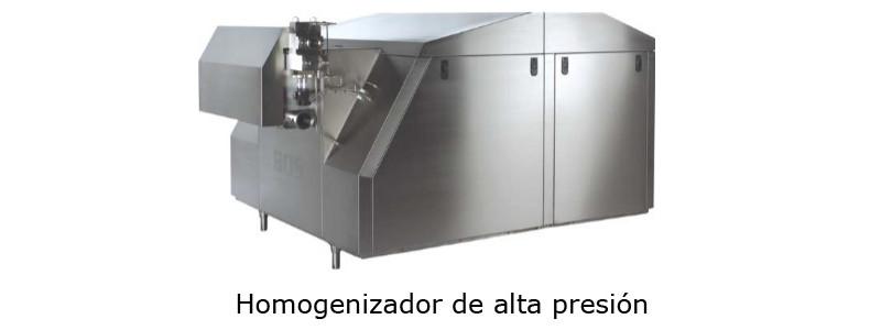 Homogenizador de alta presion